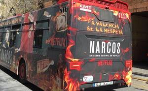 Los Narcos de Netflix se cuelan en las Fallas