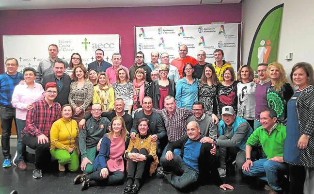 Almussafes, meta de un reto solidario