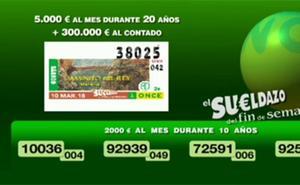 La ONCE reparte 180.000 euros en Calp en el sorteo del sábado