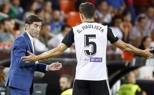 Gabriel Paulista: «Pienso en Mestalla lleno y en la Champions»
