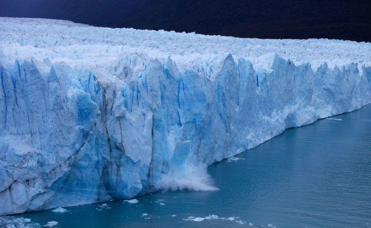 Fotos de la ruptura del glaciar Perito Moreno