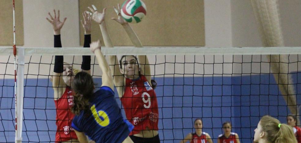 El Xàtiva Voleibol femenino, quinto clasificado de la liga de plata