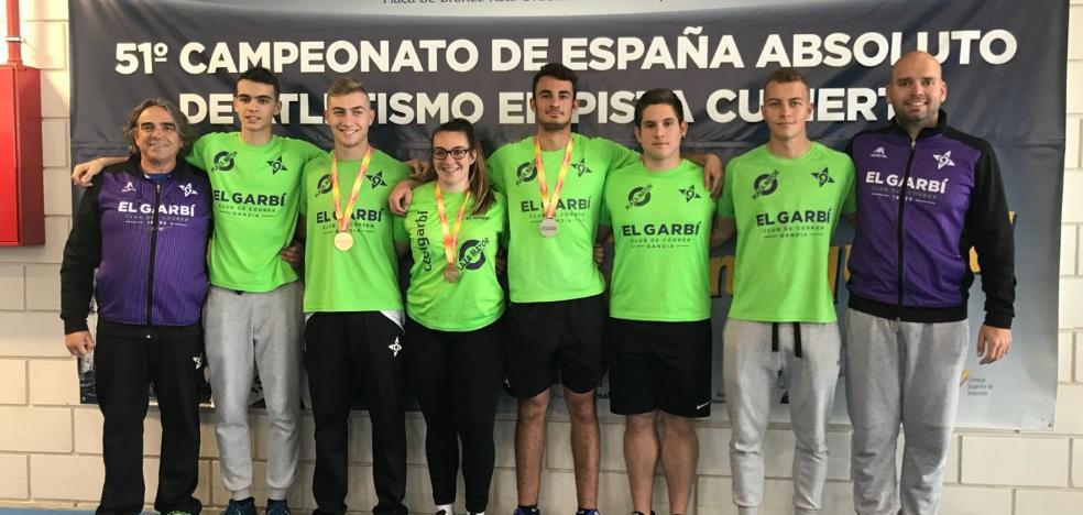 Áurea Blasco añade su título de campeona de España sub-18 al festival de éxitos de El Garbí