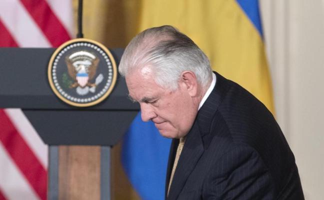 Trump cesa a Tillerson y nombra a Mike Pompeo como nuevo secretario de Estado