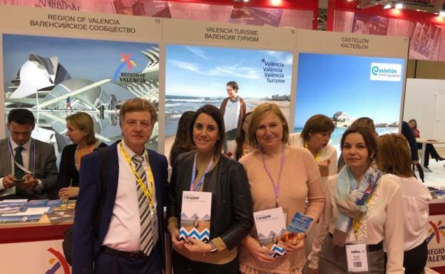 Los rusos ascienden al tercer puesto del ranking del turismo cultural en Gandia