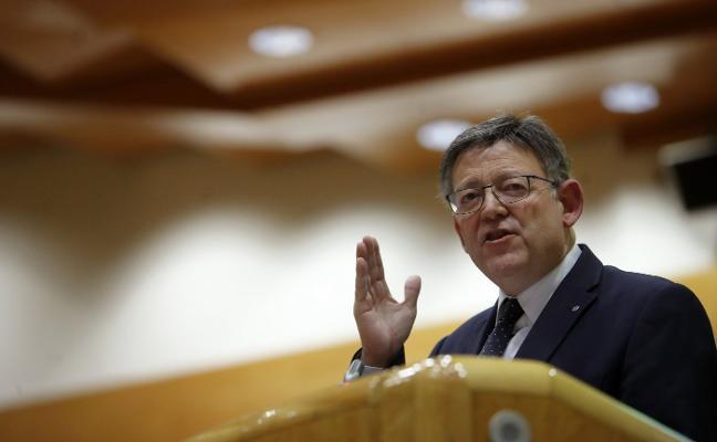 Puig reitera su voluntad de comparecer en el Senado para debatir la financiación