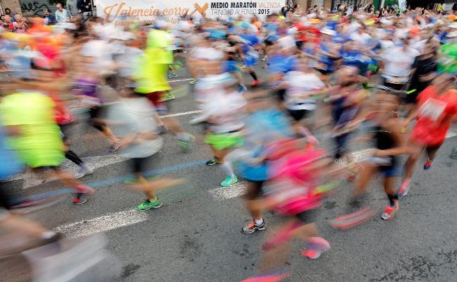 Siete avituallamientos en el Medio Maratón