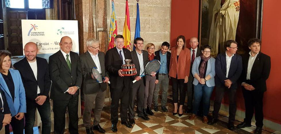 Valencia quiere ser sede habitual de la Copa Davis