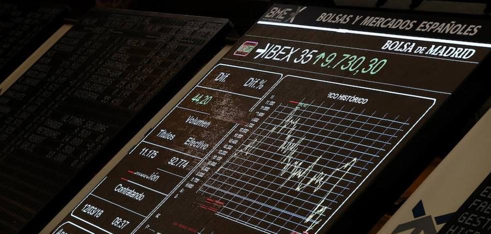 El Ibex-35 no puede con los 9.700 y cierra plano