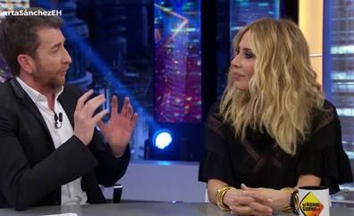 El 'zasca' de Marta Sánchez a Jordi Évole en 'El Hormiguero' que ha acabado en disculpas y halagos