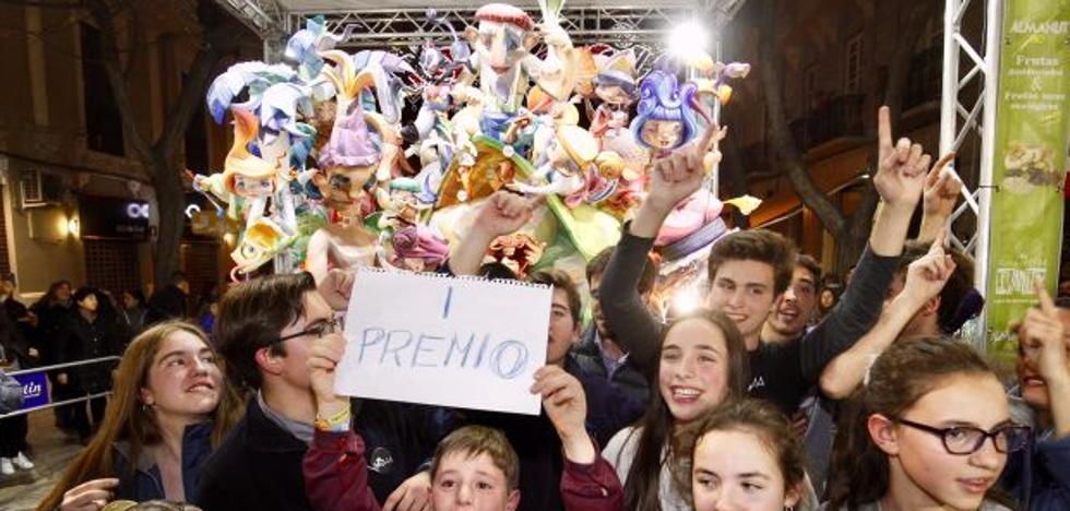 Primer premio de la sección Especial infantil de las Fallas 2018: Maestro Gozalbo - Conde Altea
