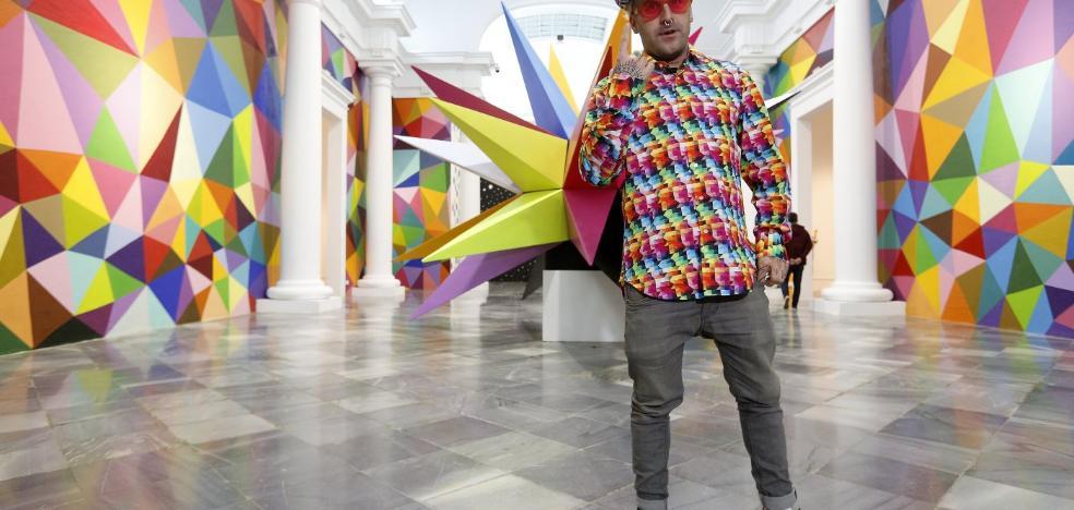 Okuda San Miguel: «Soy un pintor clásico con lenguaje digital»