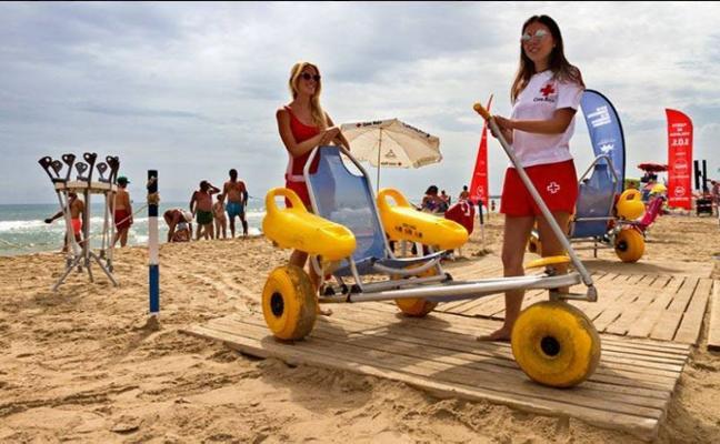 El servicio de socorrismo de Cruz Roja en las playas estará activo 213 días