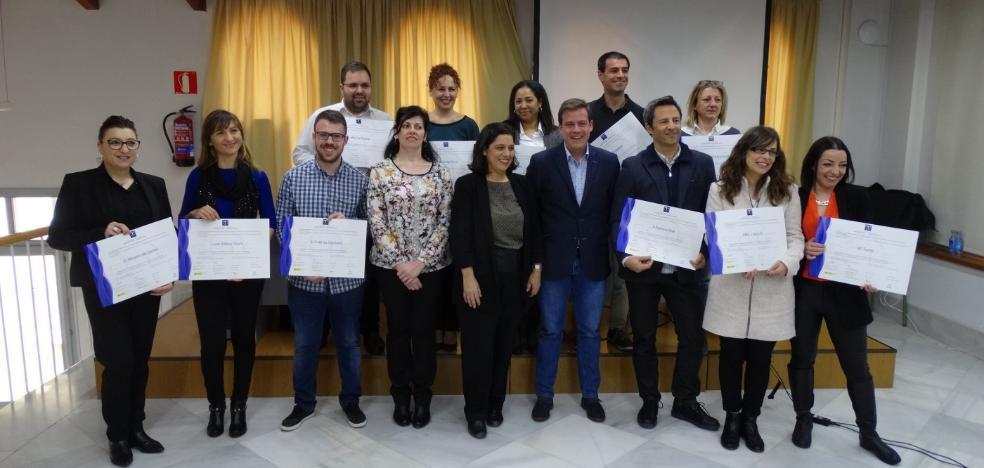 Once nuevas empresas de Xàtiva reciben la distinción de calidad turística
