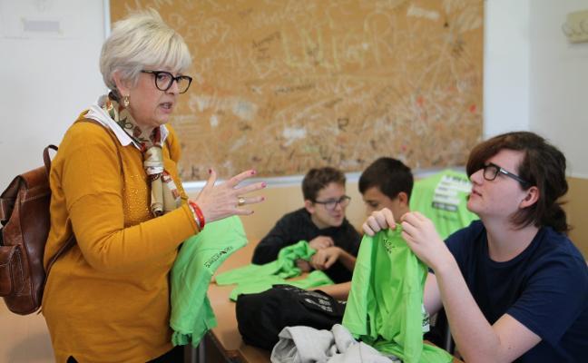 Los escolares reciclan con los cinco sentidos