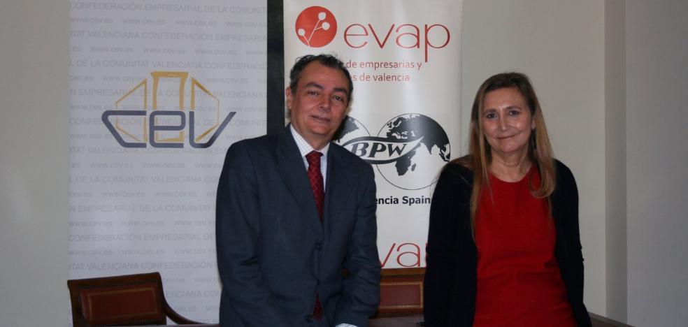 Eva Blasco, candidata a liderar CEV en Valencia