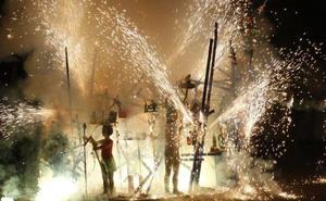 A qué hora queman la falla del primer premio y la del ayuntamiento de Valencia