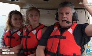 Francisco dedica a Valencia su salto desde el helicóptero de 'Supervivientes 2018'