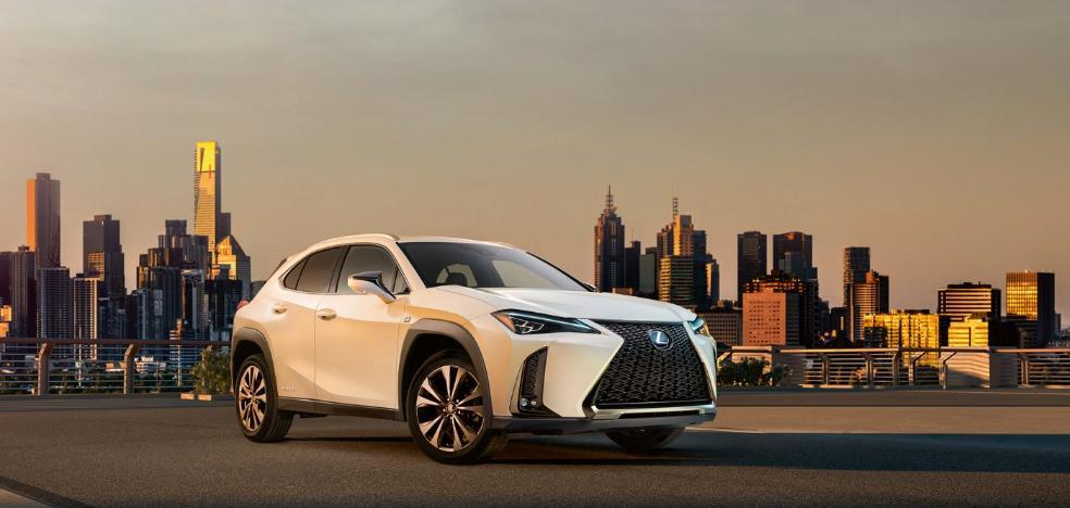 El nuevo SUV Lexus UX híbrido debutará en 2019