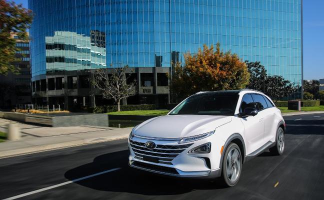 El Hyundai de hidrógeno, en España