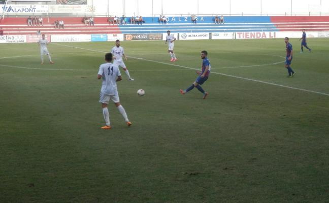 El CD Olímpic se impone 0 a 1 al CD Roda con un penalti en el tiempo de descuento