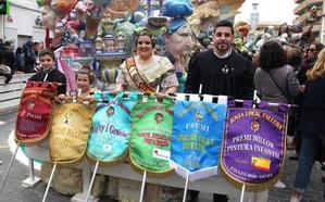 Centro arrasa en los premios infantiles de las Fallas de Dénia