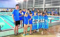 El Club de Natación triunfa en Salvamento