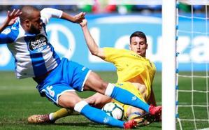 Dépor y Las Palmas empatan y le hacen un favor al Levante