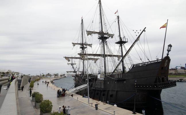 Así es el galeón español que ya se puede visitar en la Marina de Valencia