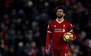 Salah propulsa al Liverpool al podio provisional de la Premier