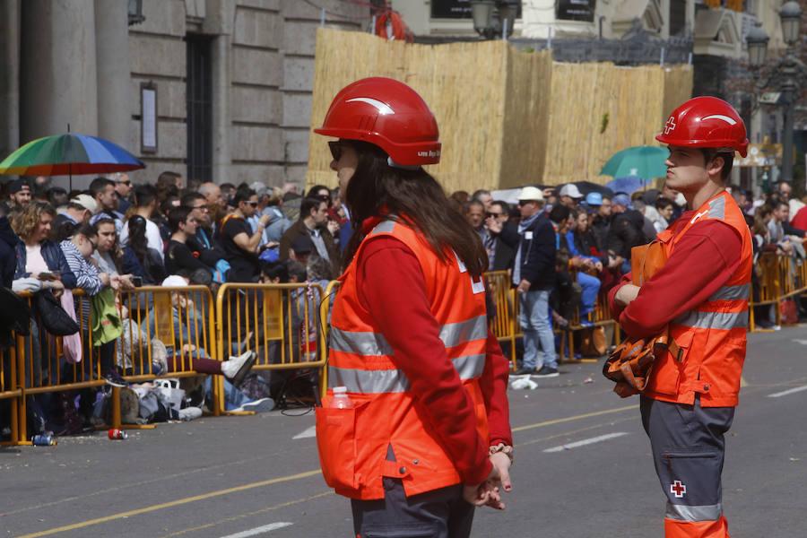 Mascletà del 18 de marzo a cargo de Pirotecnia Valenciana en las Fallas 2018
