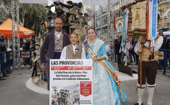 Reina-Paz y El Pilar reciben los premios a la tradición valenciana