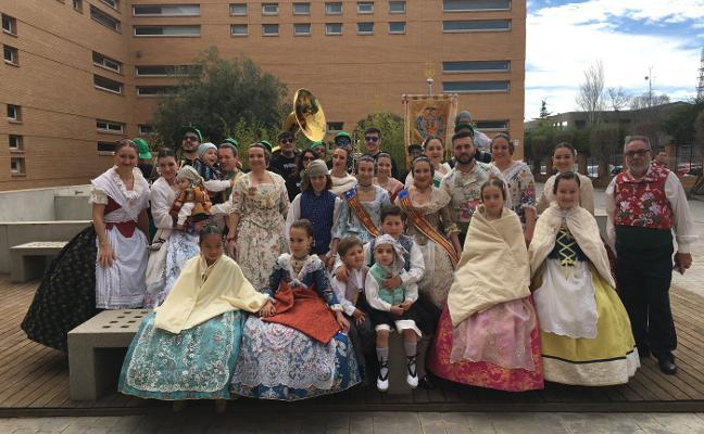 Visita de la comisión Puebla de Valverde
