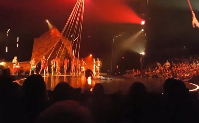 Un acróbata del Circo del Sol muere al caer durante un espectáculo en Florida