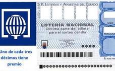 El segundo premio de la Lotería Nacional del sorteo extraordinario del día del padre cae en Valencia