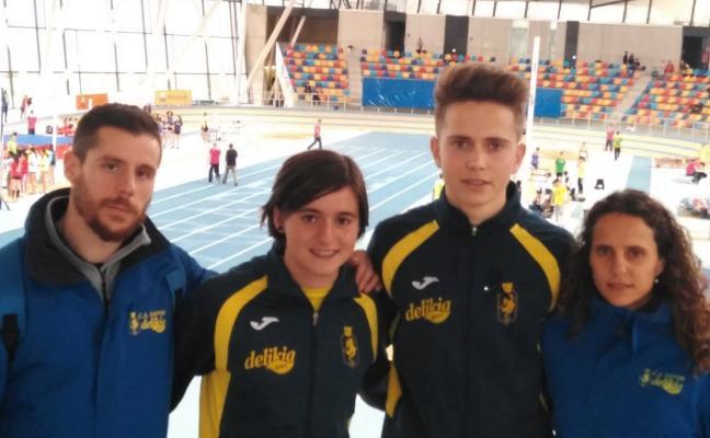 Borja Ortega asciende a lo más alto del podio nacional cadete en 1.000 metros