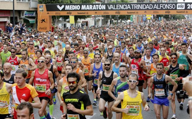 Mundial de Medio Maratón: volar sobre el agua en Valencia