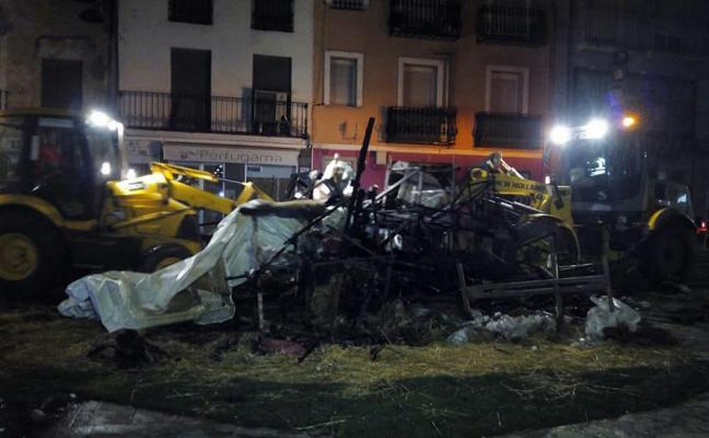 La cremà deja 180 toneladas de cenizas tras unas fiestas que acaban sin incidentes en Gandia