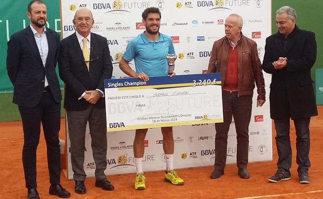 Germain Gigounon, de la Academia Ferrer, gana el II BBVA Futures Vila de Xàbia