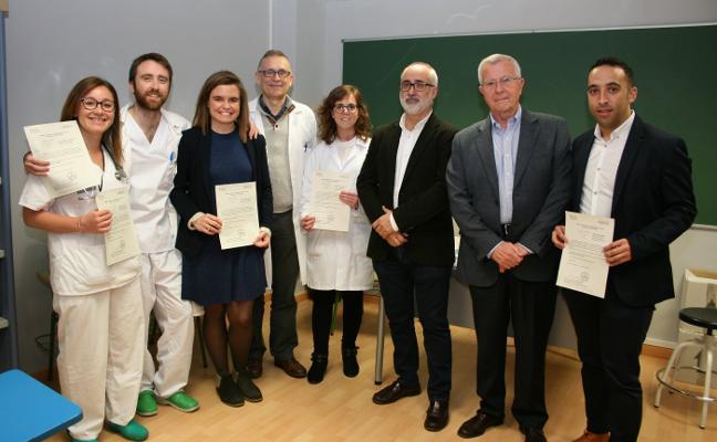 Distinciones para jóvenes científicos Doctor Peset