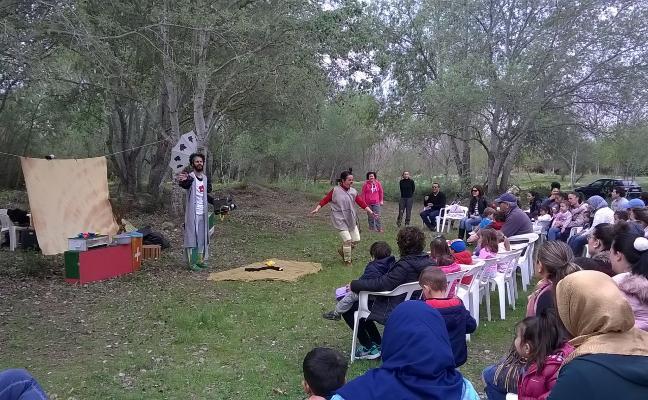 Los escolares de Algemesí celebran el Día Internacional de los Ríos