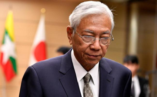 Dimite el presidente de Birmania para «tomar un descanso»