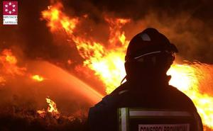 Un incendio en Torreblanca afecta al parque natural del Prat de Cabanes