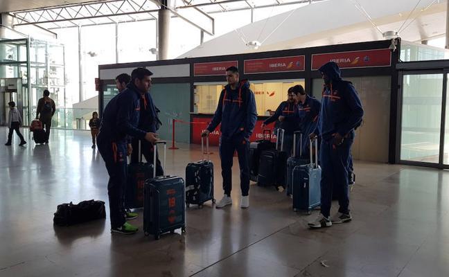 El Valencia Basket viaja a Milán con trece jugadores