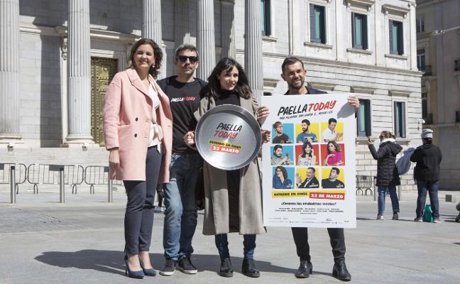 'Paella Today' recala en el Congreso