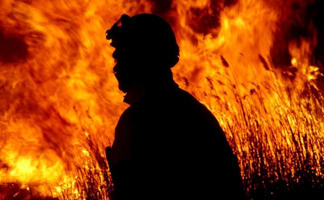 El parque natural del Prat de Cabanes arde por segunda vez en poco más de un mes