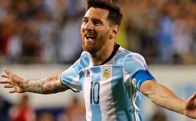 Messi, duda para el amistoso ante España