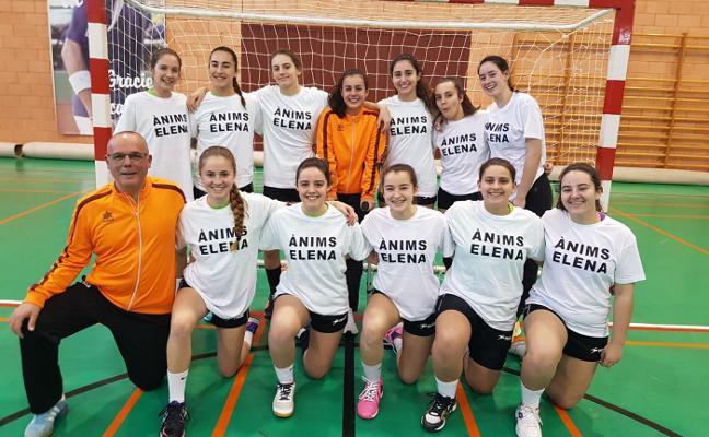 Valioso empate para las cadetes del Club Handbol Xàbia en Picassent