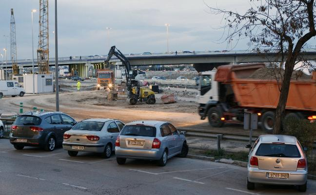 Fomento reabre el acceso de la V-30 a Xirivella por plaza España tras seis meses de obras