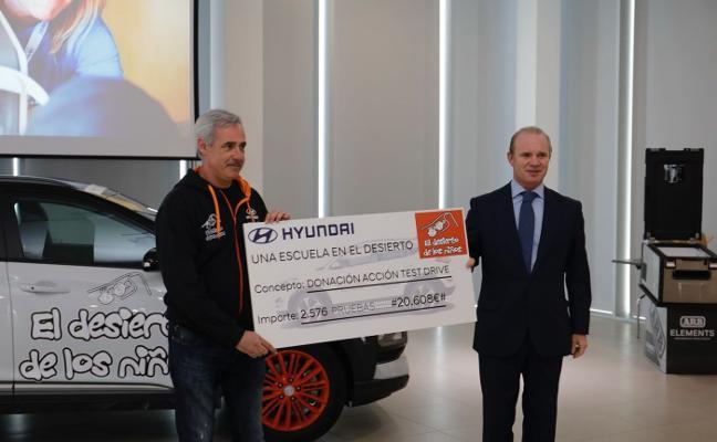 Hyundai, en la edición solidaria de 'El Desierto de los Niños'